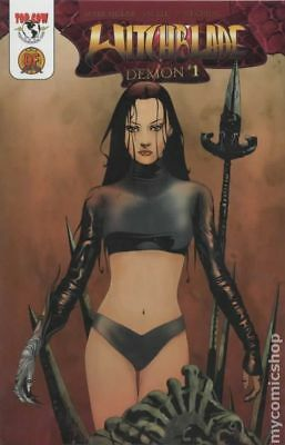 Witchblade Demon DF Exclusive 1B 2003 NM Stock Image