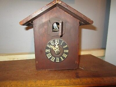 Antique Black Forest / German Cuckoo clock in need of refurbishment
