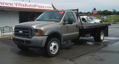 2005 Ford F-450 Flat Bed V10 only 68k miles 2005 Ford F450 XL SD 6.8L V10 14ft Flat Bed only 68k miles