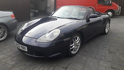 2002 52 Porsche Boxster 2.7 228 Bhp  Facelift Model  Service History  Hpi Clear