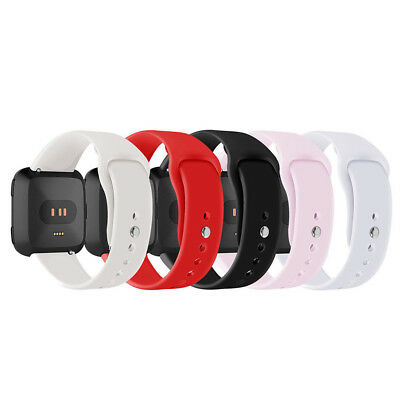 For Fitbit Versa Smartwatch Soft Silicone Replacement Sports Classic Band Strap#
