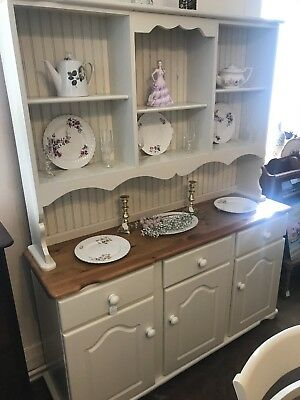Vintage Welsh Dresser Shabby Chic - Delivery Available -  SC236