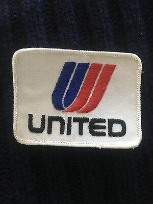 1 Vintage United Airlines Embroidered Logo Patch