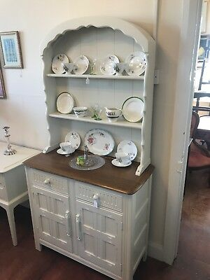 Vintage Welsh Dresser Shabby Chic - Delivery Available - SC247