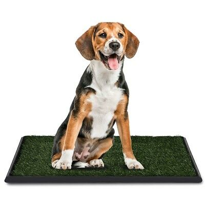"30""x20"" Pet Dog Puppy Potty Training Home Toilet Grass Pad Mat Carpet Turf Patch"