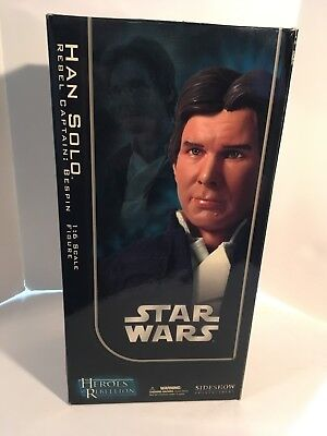 2006 Sideshow Collectibles Star WarsHan Solo Rebel Captain: Bespin1:6 Scale