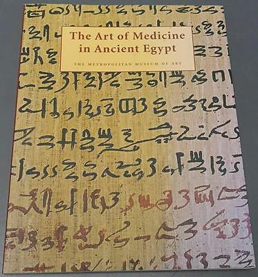 The Art of Medicine In Ancient Egypt James P Allen Metropolitan Museum Book