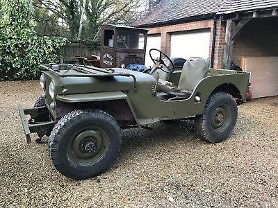 Willys Jeep, 1947 CJ2A, just arrived in UK from Denver CO, with NOVA taxes paid.