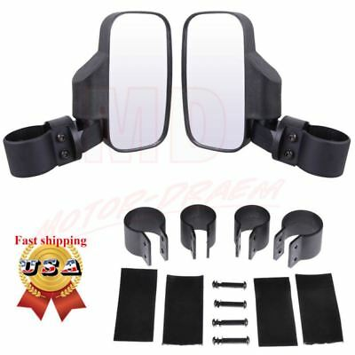 Side View Mirrors Set for UTV Offroad Polaris Break-Away Large Wide View Race US
