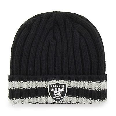 f328f3dc OAKLAND RAIDERS WITH Tassel Toddler/Child/Infant Cuffed Stripes Knit ...