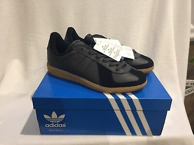reputable site a7ae1 6176a Mens Adidas Originals BW Army Trainers GAT German Army Black Size UK 5