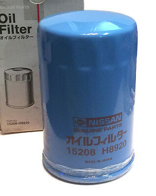 Genuine Datsun Roadster Oil Filter, 2000 U20, Made-in-Japan, OEM NEW!