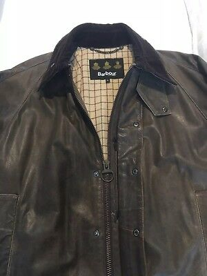 Barbour Porchester Leather Sporting Jacket