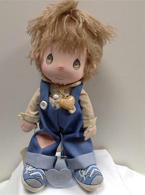 PRECIOUS MOMENTS~applause Collectible Doll FLIPPY #4568 Orig Heart~Stand EXCLNT