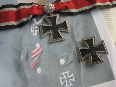 WWII WW2 Army Officer General Officer Grand Knights Iron Cross First Class Set