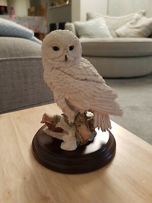Country Artists Snowy Owl Ornament Ca962