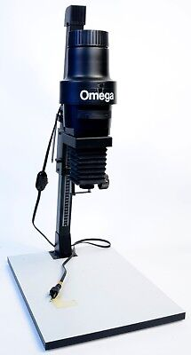 Omega C700 Darkroom Photo Enlarger With Omega 50mm Lens Good Used Condition