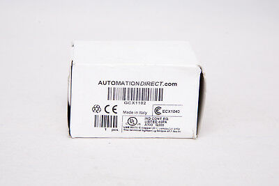 Automation Direct GCX1102 / ECX1040 Green Pushbutton with Contact Block