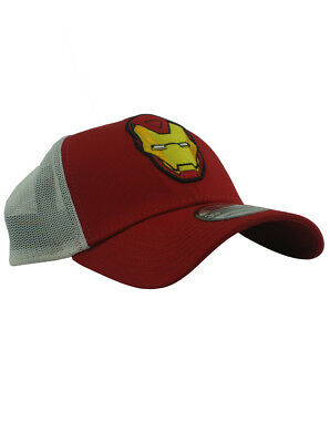 ... homecoming shadow snapback cap 7522f 8ac11  denmark new era iron man  39thirty fitted hat size small medium marvel comics avengers 1da02 294e6 c13ff3fff5d6