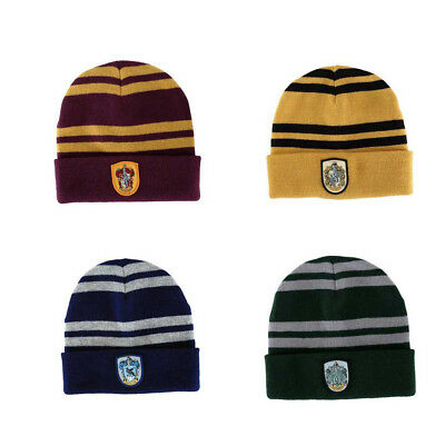 72a803c6353 Harry Potter Beanie Hat  New  CHOOSE HOUSE  Unisex Hogwarts Magic Winter  Magic