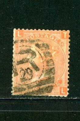 Great Britain Scott # 43 - Used - CV=$92.50 - great cancellation
