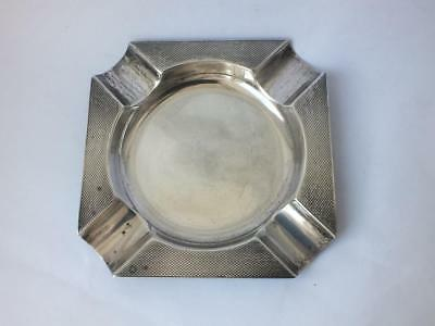 Solid Sterling Silver Ash Tray 1953/ L 8.9 cm/ 46 g