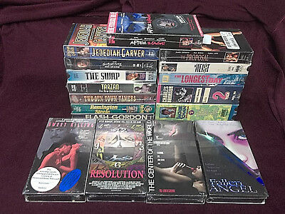 YOU PICK 5 VHS From 200 BRAND NEW Videos $10 Delivered Action Documentary Etc. *