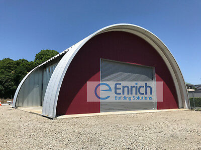 Q Model 25x30x12 no end walls Steel Building used for Warehouse, barns & Shops