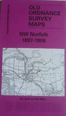 Old Ordnance Survey Maps NW Norfolk 1897-1906 Sheet 130  Godfrey Edition New