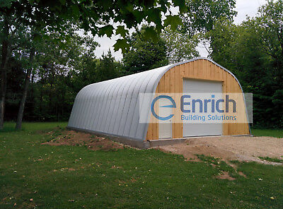 Alpine 20x30x12 no end walls Steel Building used for Barns, Stores & Shops