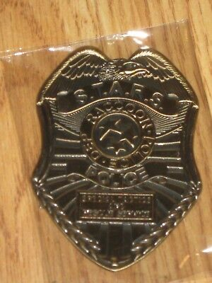 Nerd Block Resident Evil 20th Anniversary S.T.A.R.S. Badge Diecast metal Replica