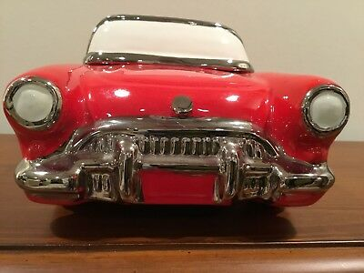 1957 Little Red Corvette Cookie Jar Made In USA 1986