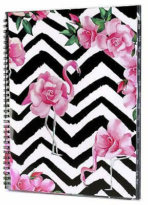 2019-2020 Monthly Planner W/ Tab Stickers Contacts Password Pages Christmas Gift