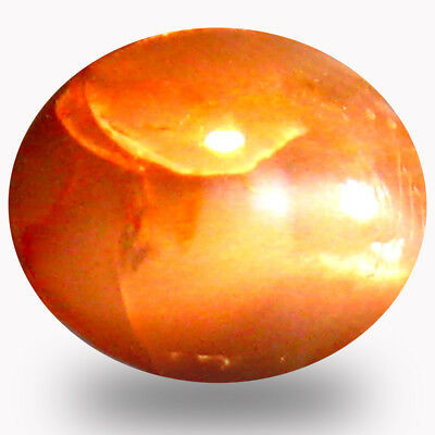 1.13 ct  Oval Cabochon (6 x 5 mm) Un-Heated Color Change Alexandrite Cat's Eye