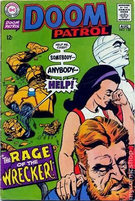 Doom Patrol (1st Series) #120 1968 VG+ 4.5 Stock Image Low Grade