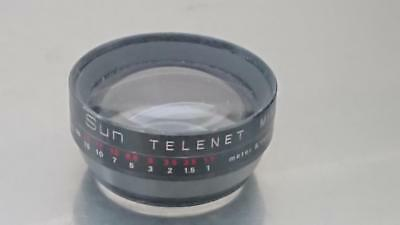Sun Telenet Mini 35 Aux Lens for EE Camera 48mm screw mount