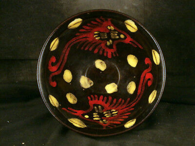 WOW Chinese Song Dy Porcelain Painting *2Phoenix* Bowl Uaa081