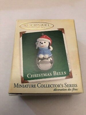 2005 Hallmark miniature 11th in series Christmas Bells