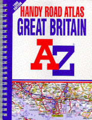 Handy Road Atlas of Great Britain 1998, Geographers' A-Z Map Company, Good Book