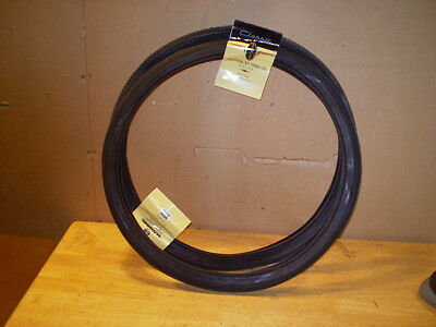 """Schwinn Approved Fastback 20"""" Bicycle Tires Front Tire & Rear Slick & Tubes"""
