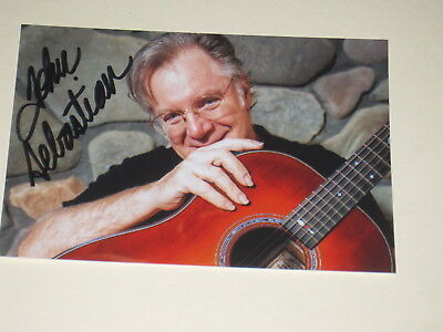 Singer JOHN SEBASTIAN Signed WOODSTOCK 4x6 Photo LOVIN' SPOONFUL AUTOGRAPH 1B