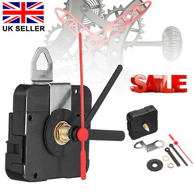 DIY Quartz Clock Movement Mechanism Module & Hands Replacement Part Kit UK TOP