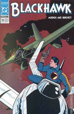 Blackhawk (2nd Series) #14 1990 VF 8.0 Stock Image
