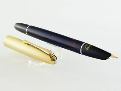 1948 Aurora 88 Early Type Nizzoli Design Gold Plated Cap 83.48.91. 14K Gold Nib!