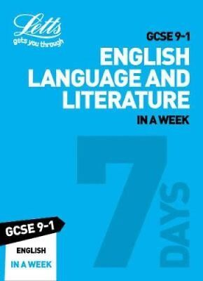 GCSE 9-1 English In a Week by Letts GCSE 9780008317683 (Paperback, 2018)
