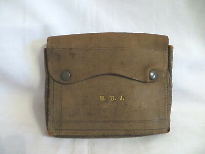 Vintage Brown Masonic Apron Satchel - Integrity Lodge No 4151 (63)