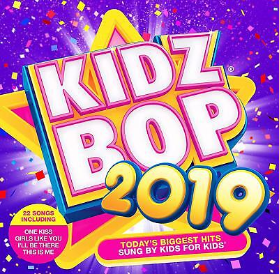 Kidzbop ~ Kidz Bop 2019 ~ NEW CD (sealed) ~ 22 Hits Sung by Kids for kids
