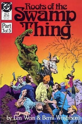 Roots of the Swamp Thing #3 1986 FN Stock Image
