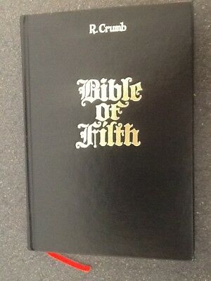 R. Crumb Bible of Filth (2017, David Zwirner Books) by R. Crumb. Very Fine Cond.