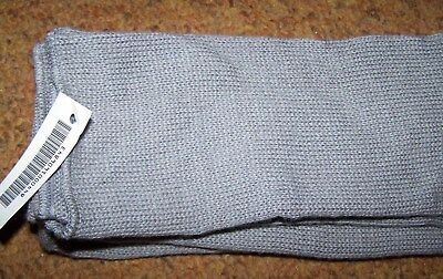 Wool Scarf, Gray, U.s. Issue *new*